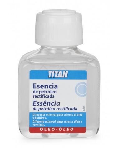 Esencia de trementina rectificada Titan 100 ml.