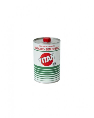 Disolvente Titan sin olor 1l.