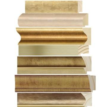 Espejos dorados - oro