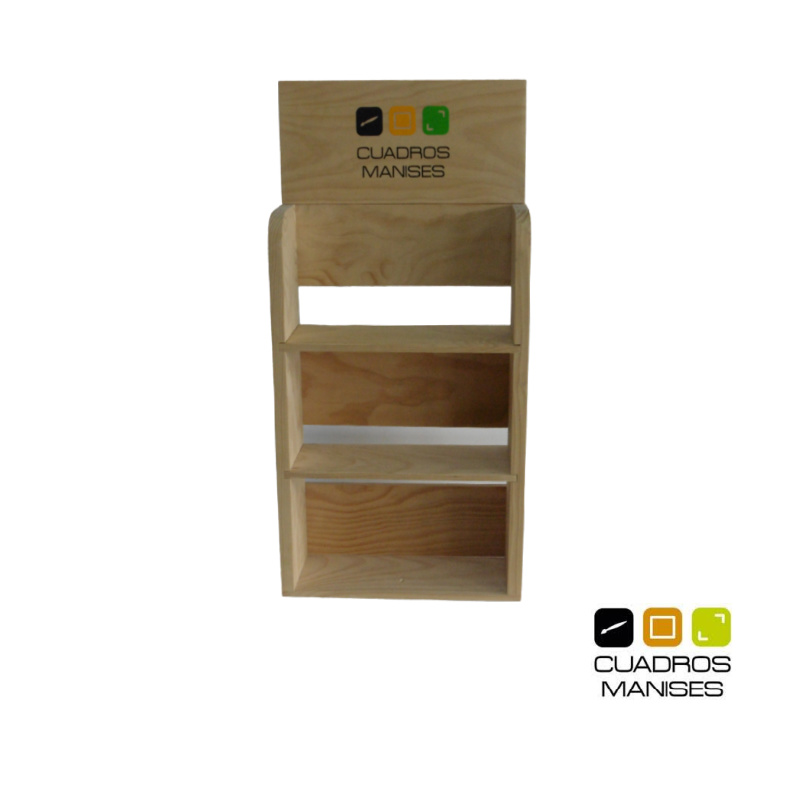 mueble expositor a medida